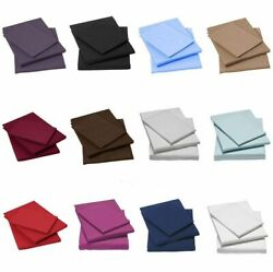6 Pc Bed Sheet Set All Us Sizes And Colors 1500 Thread Count Soft Egyptian Cotton