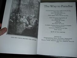 Rare The Way To Paradise 1924 Vanamburgh Watchtower And Biography Bible Students