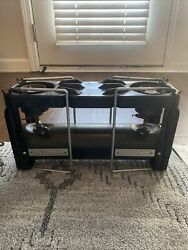 Vintage Coleman U.s. Military Stove And Case, Model 523, 1965