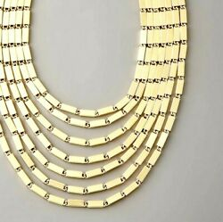 Kate Spade Gold Rush Necklace Nwt Amazing Design Gold Bars Form Stunning Piece