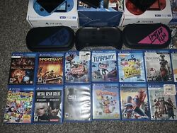 Ps Vita Ps Tv Limited Run Aaa 72 Game Collection Sony Playstation Vita