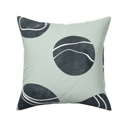 Pebble Stone Rock Nature River Throw Pillow Cover W Optional Insert By Roostery