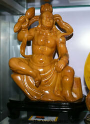 16 Natural Tianhuang Shoushan Stone Supremacy Of Subduing The Devil God Statue