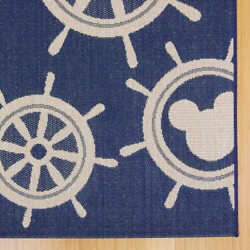 Disney Mickey Mouse Collection Of Indoor/outdoor Rugs Mickey Wheels