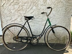 """Antique Toc 1900s 1910s Ladies Iver Johnson Bicycle Great Orig Condition 28"""""""