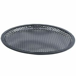 10xcar Black 10 Inch Round Metal Mesh Speaker Sub Box Subwoofer Grill Cover