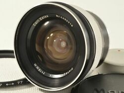 Carl Zeiss Distagon 18mm F4 For Contarex [excellent] From Japan 11864