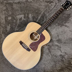 New Special Price Exhibit Guild F-40 Nat Guild Acoustic Guitar Hard Case Not In