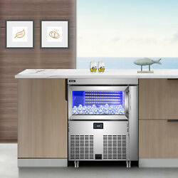 Vevor Commercial Ice Maker Ice Machine 200-310lb/24h Undercounter Ice Cube Maker