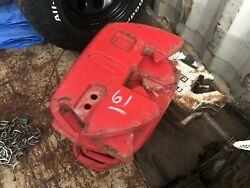 7 Mccormick Stamped Tractor Suitcase Weights 45kg 100 Lb Ea Part 413308a1 700l