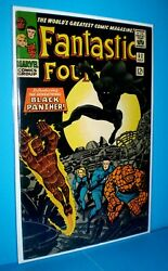 FANTASTIC FOUR #52 High grade VF NM FIRST BLACK PANTHER APPEARANCE