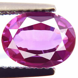 Ceylon Sapphire 1.63ct Best Natural Purple Pink Awesome Vivid Perfect Oval Shape