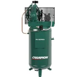 Championandreg 5hp 2-stage 80-gallon Air Compressor Made In Usa 8550-65ds