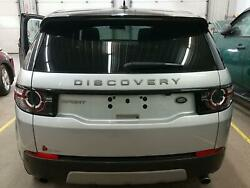 Tailgate / Trunk / Decklid For Discovery Sport Slvr Heat Wipe Less Cam W-lights