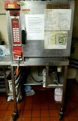 Blodgett Xl50ec Commercial Electric Convection Oven On Stand W/ Rolling Casters