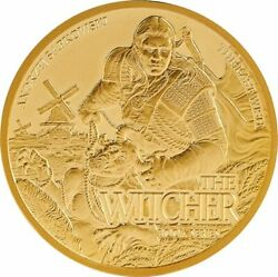 The Last Wish Witcher Book Series 1/10 Oz Gold 15 Dollars Niue 2021