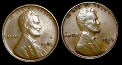 1910 1929-s Lincoln Cent Wheat Penny ---- Nice Lot L@@k ----  T262