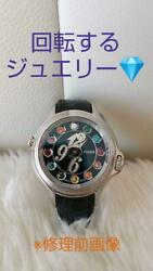 Fendi Crazy Carats Ladies Watch Used Excellent From Japan
