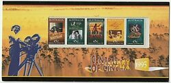 1995 Stamp Pack And039centenary Of Cinemaand039 - Se-tenant Mnh Strip Of 5 X 45c Stamps