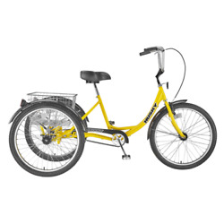Husky Bicycles 160-303 Industrial Tricycle, 600 Lb Capacity, 26 Wheels,