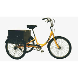 Husky Bicycles 160-312 Industrial Tricycle,600 Lb Cap,26