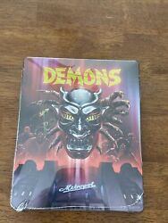 Demons 1 And 2 Steelbook Blu-ray. Rare Sealed And Oop