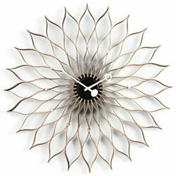 1000 Yen Off Coupon Available 10x Points Vitra Clocks Sunflower Clock Birch