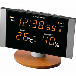 Led Temperature Humidity And Radio Clock C-8305or 20 Points Non-work On Behalf