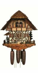Cuckoo Clock Interior Wall Overseas Models America Chalet 8-day With Spinning