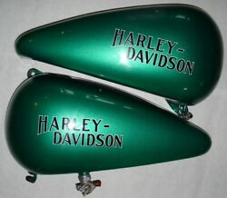 Harley Davidson Oem Tanks And Fenders For A 1985 Softail Original Equipment,