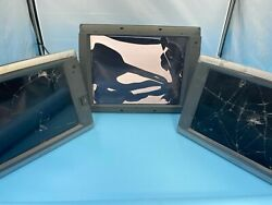 Lot Of 3 Garmin Gps Units For Parts Cracked Screens