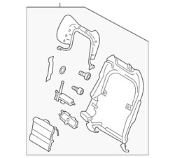 Genuine Ford Support Frame Gd9z-5461018-dac