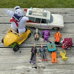 Vintage 1980s Kenner The Real Ghostbusters Action Figures Toys Assorted Lot Ecto
