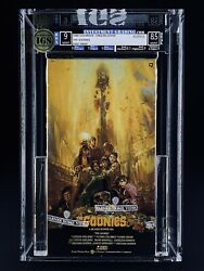 Vhs The Goonies Igs 9.0-8.5 Double Mint 1986 - First Print - Highest Pop 1