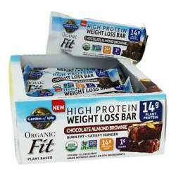 Garden Of Life - Organic Fit High Protein Weight Loss Bars Chocolate Almond