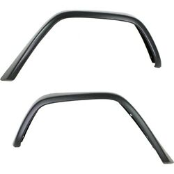 Pair Set Of 2 Fender Flares Rear Left-and-right For Mercedes G Class Lh And Rh