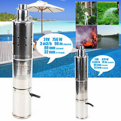 Dc 24v Submersible Pump Deep Well Water Pump Stainless Steel Body Best