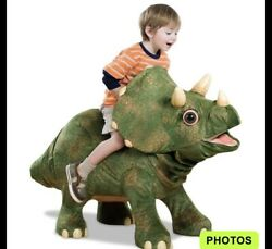 Playskool Kota Triceratops With Out Leaf Excellent Condition