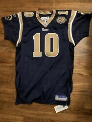 St. Louis Rams Marc Bulger Jersey Size 48 Team Issued Pro Cut Game Worn