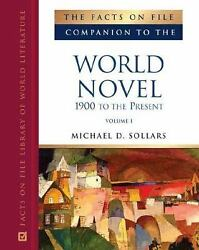 Facts On File Companion To The World Novel 1900 To The Present H
