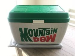 Vintage Coleman Mountain Dew Limited Edition Cooler Large Hd 25x17x14 Rare