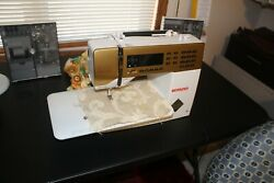 Bernina 530 Le Limited Edition Gold Sewing Machine With Bsr Foot Included.