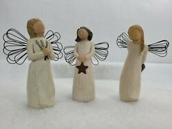 Willow Tree Angel Of Light/angel Of Remembrance /thank You 2001 Demdaco Figure