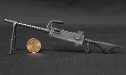 1/10 Scale Ammodel Ww2 Weapons Usa Browning M1919 A6 For Figures Custom