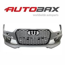 2015 2016 2017 2018 Audi Rs7 Front Bumper Cover W/ Central Grille Oem 4g8807437