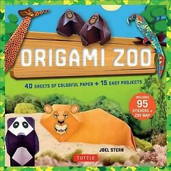 Origami Zoo Kit Paperback by Stern Joel Like New Used Free shipping in th...