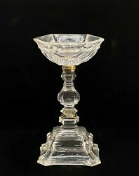 Viennese Carved Rock Crystal And Gilt Silver Cabinet Vase 19th Century