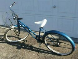 Sears And Roebuck 1960and039s Two Speed Kick Back Braking Bicycle - Ready To Ride