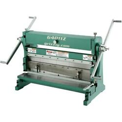 Grizzly G4011z 30 3-in-1 Sheet Metal Machine