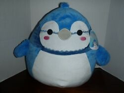 Squishmallow Babs The Blue Jay16 Plush Pillow Toy By Kellytoy New Tags